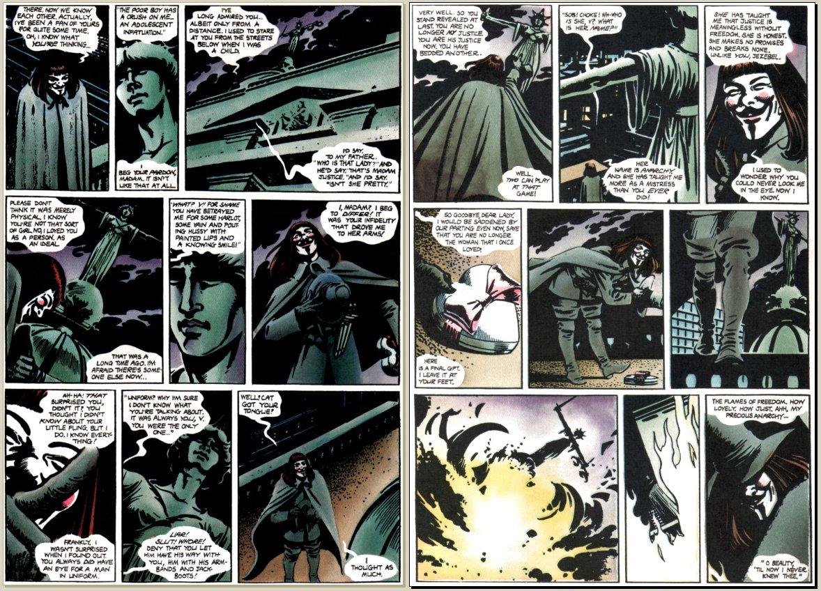 Monster V For Vendetta Movie Quotes. QuotesGram